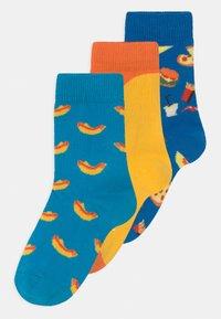 Happy Socks - HOT DOG 3 PACK UNISEX - Sokken - multi-coloured - 0