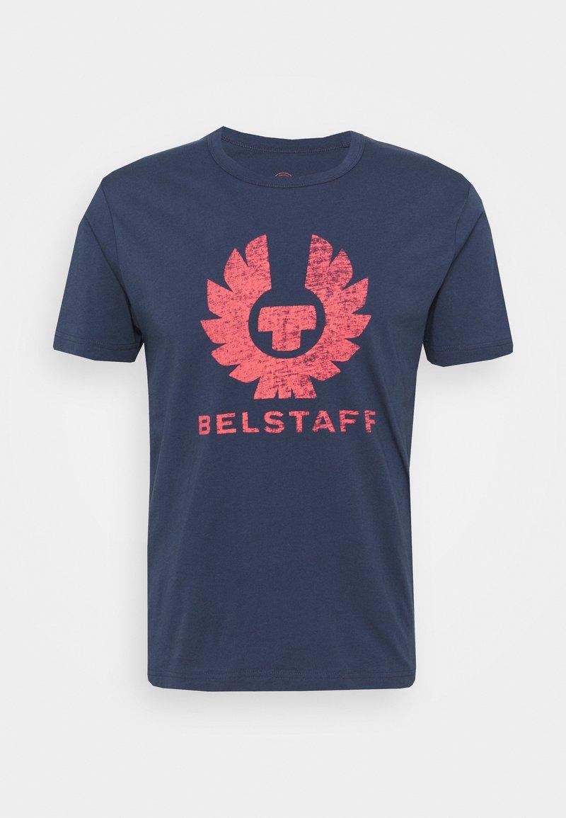 Belstaff - COTELAND  - T-shirt con stampa - deep indigo/flare