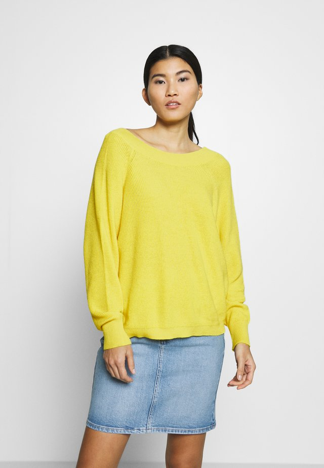 SLFMAI ONECK - Strickpullover - empire yellow