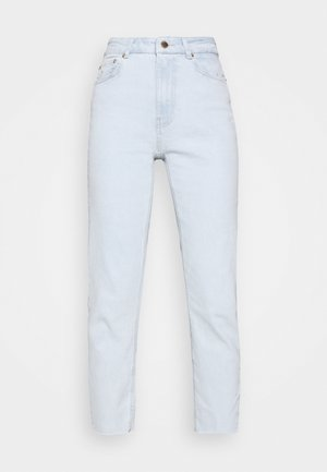 ONLEMILY LIFE CROP - Vaqueros pitillo - light blue denim