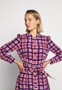 LK Bennett - EVELYN - Košilové šaty - cerulean multi - 4