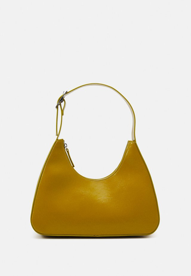 HAYDEN BAG - Handbag - khaki patent