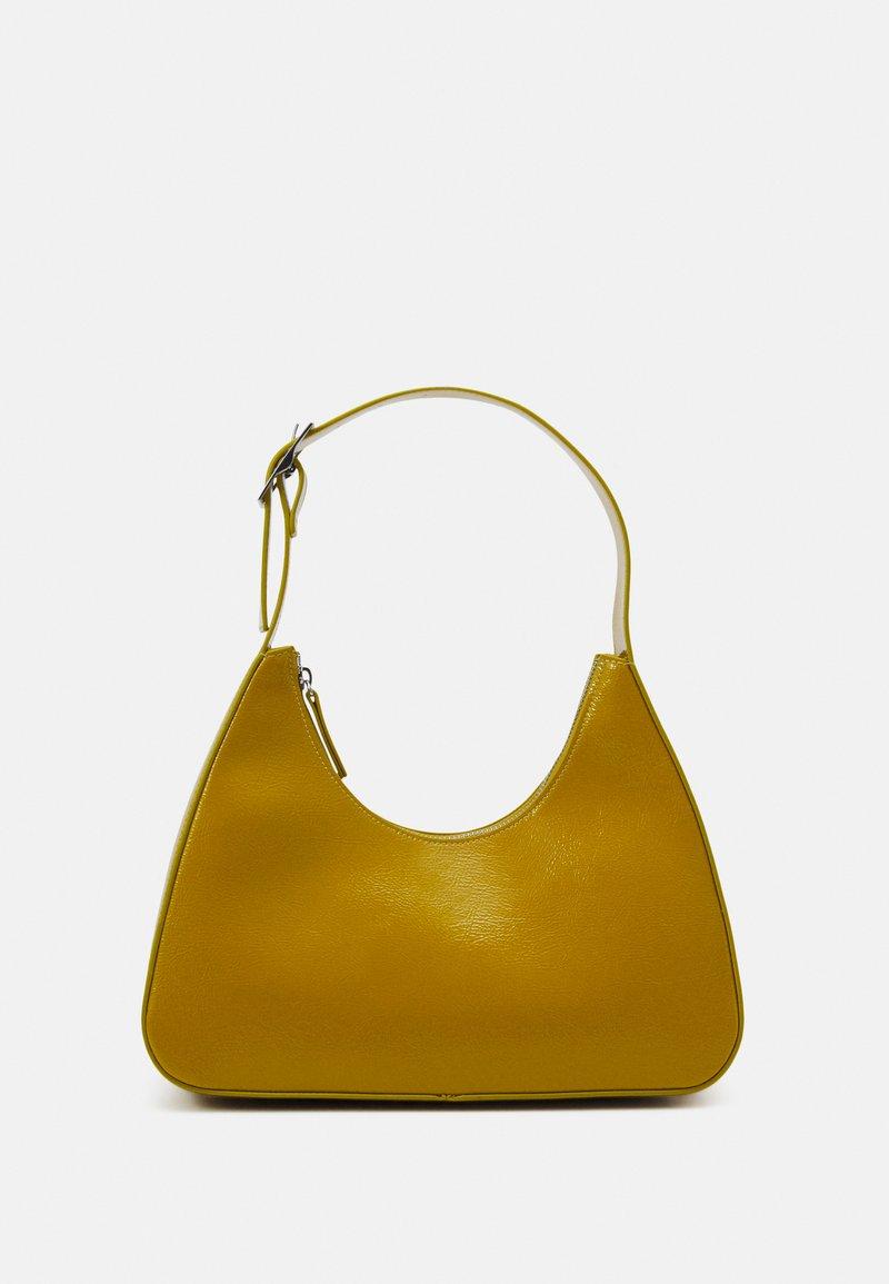 Monki - HAYDEN BAG - Håndtasker - khaki patent