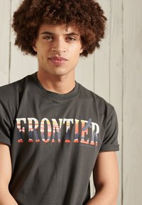 Superdry - T-Shirt print - blue - 1