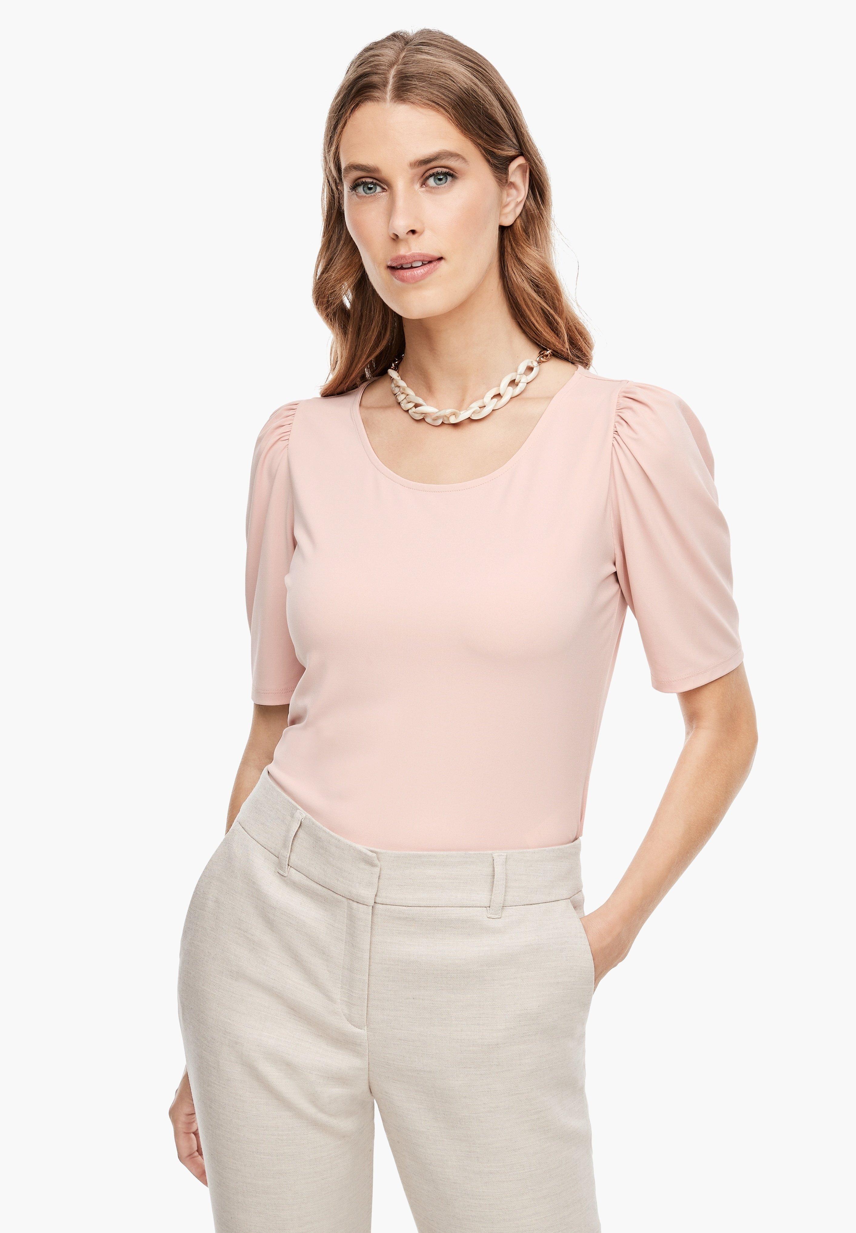 Damen MIT PUFFÄRMELN - T-Shirt basic