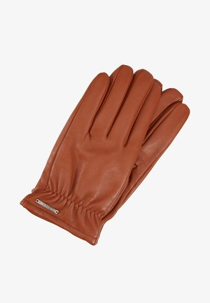 Gloves - cognac