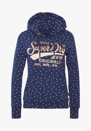 ENTRY HOOD - Hoodie - atlantic navy