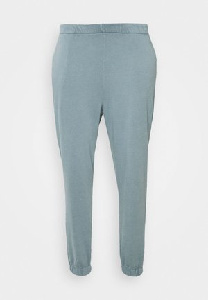 HIGH RISE TRACKPANT - Tracksuit bottoms - mid blue