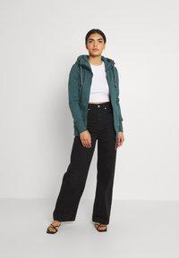 Ragwear - NESKA ZIP - Zip-up sweatshirt - dark green - 1