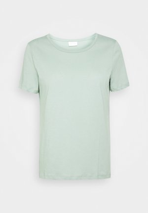 VISUS  - Basic T-shirt - green milieu