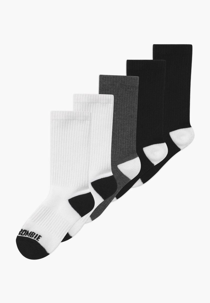 Abercrombie & Fitch - SEASONAL 5 PACK - Ponožky - multi-coloured, black