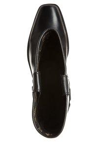 Kentucky's Western - Cowboy/Biker boots - black - 4