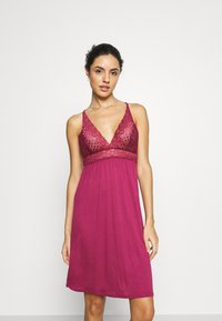 LASCANA - NEGLIGEE - Nightie - bordeaux - 0