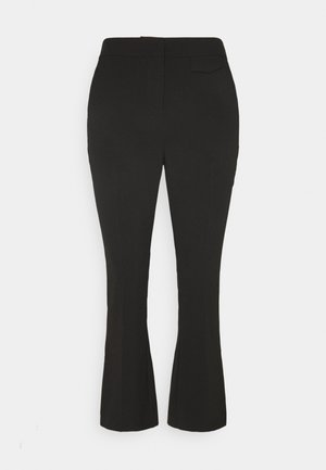 BYELISA KICK FLARE PANTS - Pantaloni - black