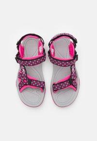 CMP - HAMAL UNISEX - Chodecké sandály - hot pink - 3