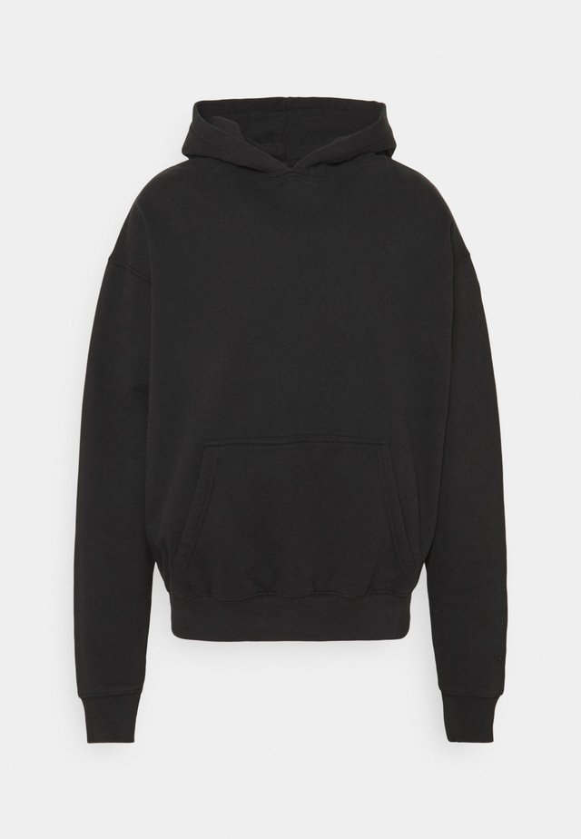 HEAVY OVERSIZED HOODIE UNISEX - Sweater - washed black