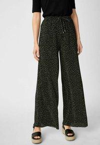 C&A - Trousers - black / white - 0