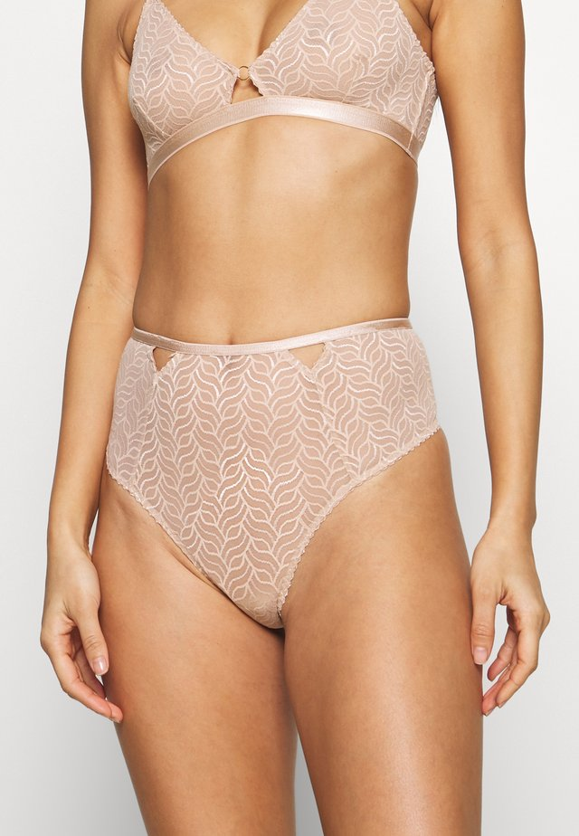 VIVI HIGH - Stringit - warm beige