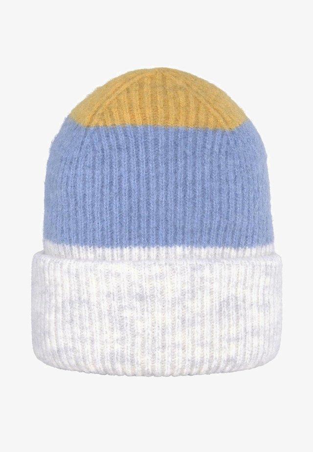 RIPP - Mütze - blue creme yellow stripe