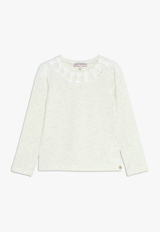 LAPOP - Long sleeved top - nacre
