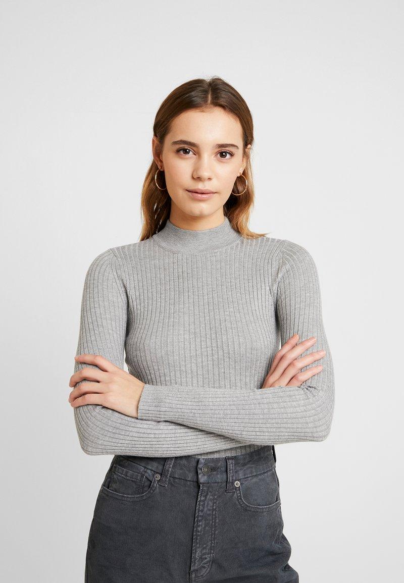 Even&Odd - Stickad tröja - grey