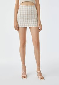 PULL&BEAR - Mini skirt - sand - 0