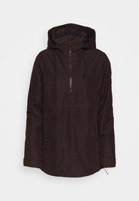 FERN INS GORE - Snowboard jacket - black/red