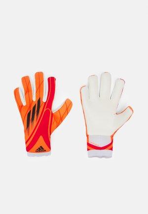 UNISEX - Goalkeeping gloves - solar red/red/black/white