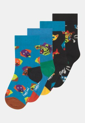 TIGER CAT 4 PACK UNISEX - Socks - multi