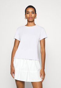 JUST FEMALE - CASH TEE - Basic T-shirt - white - 0