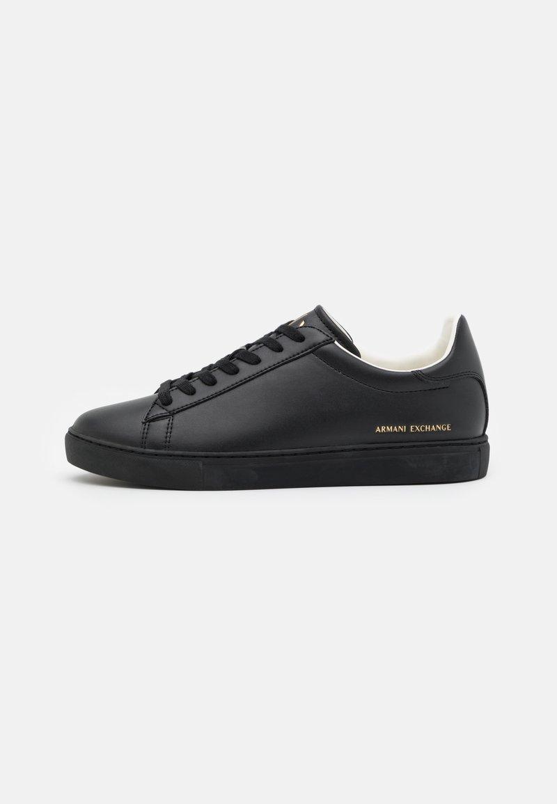 Armani Exchange - Sneakers laag - black