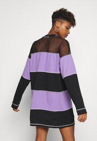 The Ragged Priest - SKATER DRESS - Jersey dress - black/purple - 2