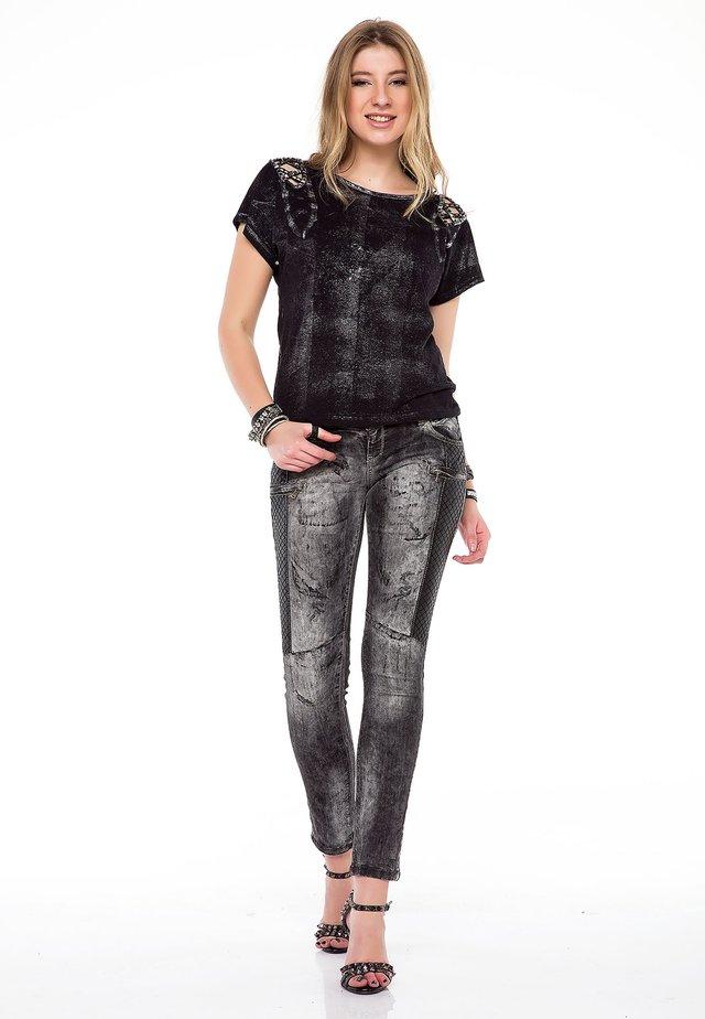 Slim fit jeans - anthracitegrey