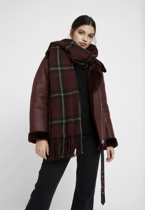 OBJMARILYN CHECK SCARF - Scarf - port royale