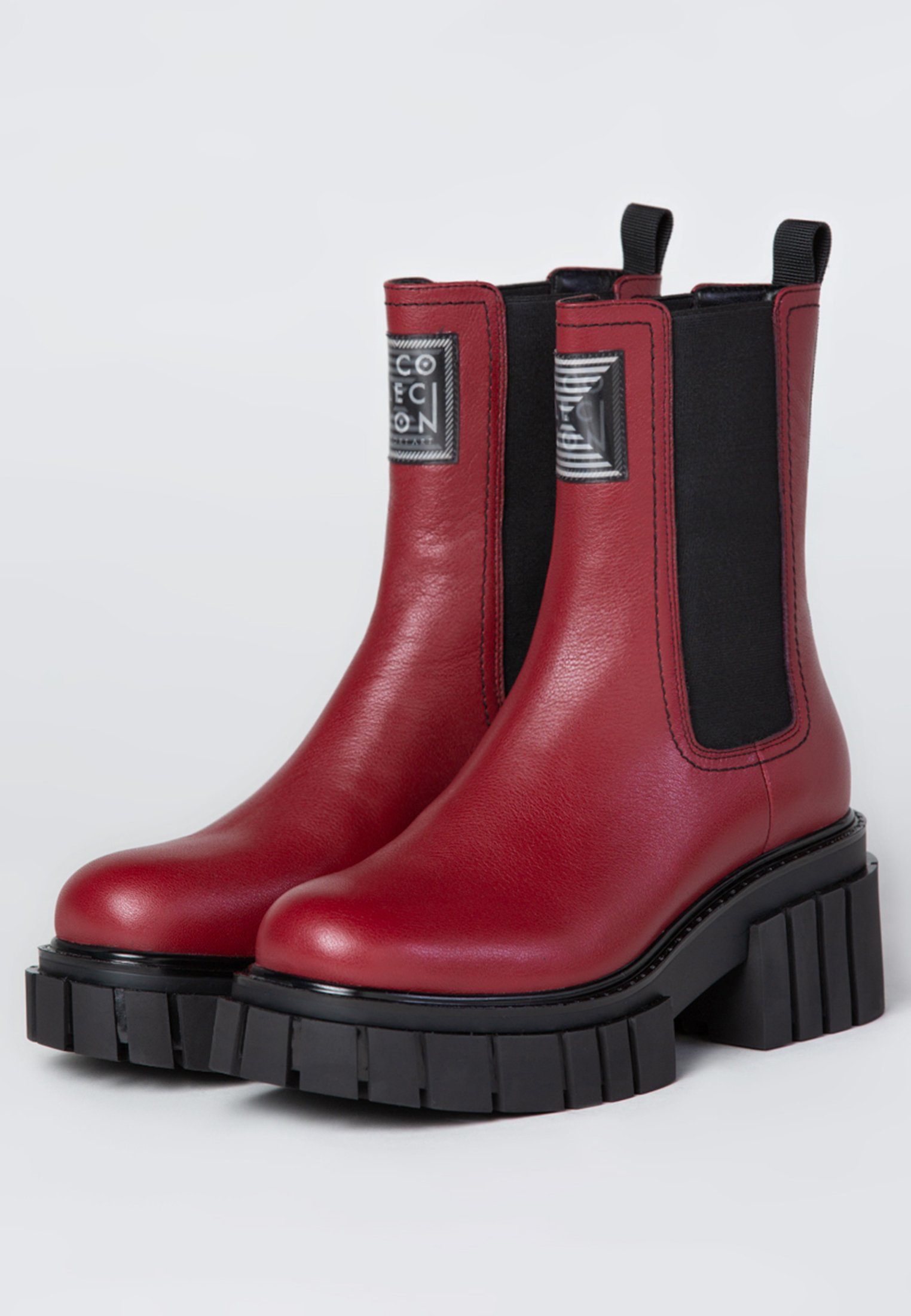 TJ Collection Ankle Boot red/rot
