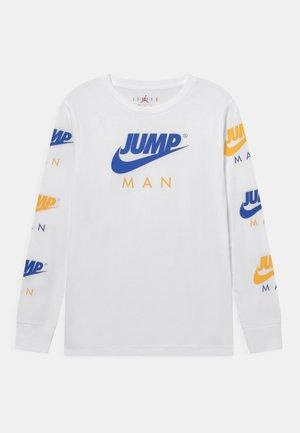 JUMPMAN TRIPLE THREAT - Langarmshirt - racer blue/white