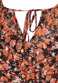 Zizzi - Day dress - orange - 4