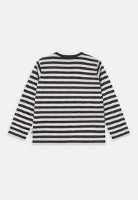 Marimekko - VEDE TASARAITA - Long sleeved top - black/white/gold - 1