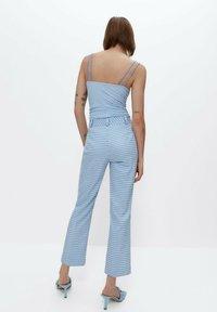 Uterqüe - Trousers - light blue - 2