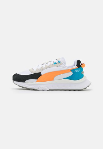 WILD RIDER ROLLIN UNISEX - Sneakers laag - white/orange glow