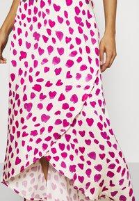 Fabienne Chapot - CORA SKIRT - Zavinovací sukně - white/pink - 4