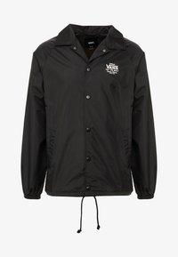 Vans - TORREY - Summer jacket - black/white - 4