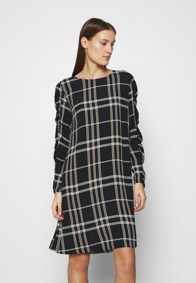 LILLIAN DRESS - Korte jurk - mono check