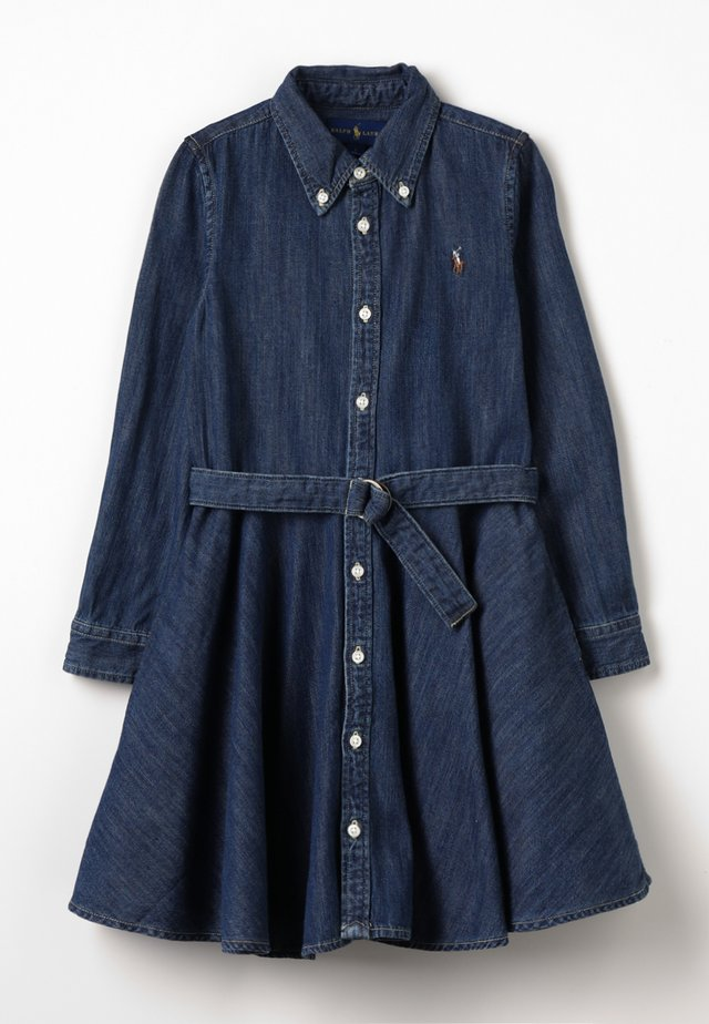 DENIM - Robe en jean - indigo