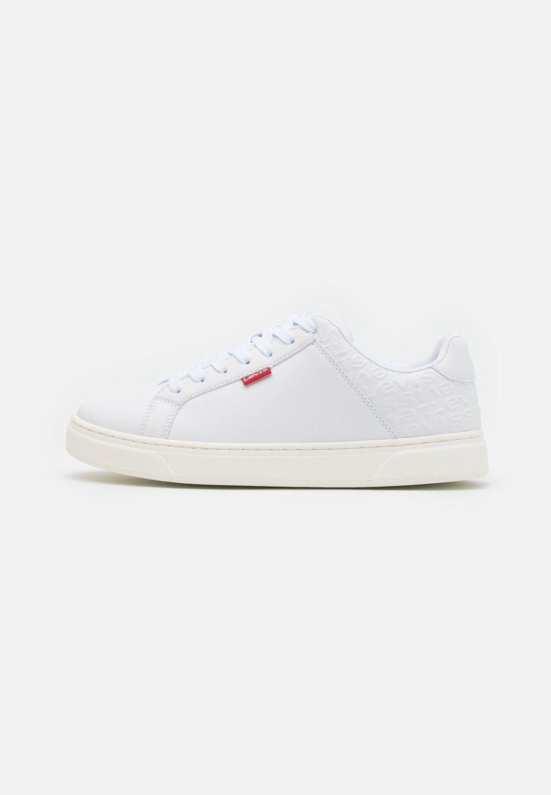 Levi's® - CAPLES - Sneakersy niskie - regular white