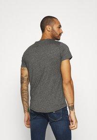 Tommy Jeans - SLIM JASPE C NECK - Basic T-shirt - black - 2