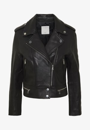 SIOUXIE - Leather jacket - noir