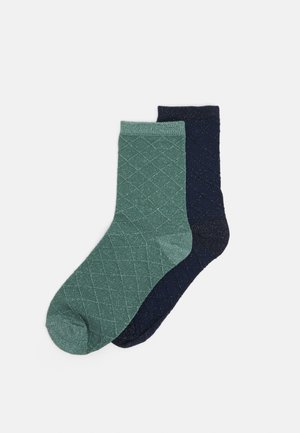 MIX SOCK 2 PACK - Socks - blue depths/green