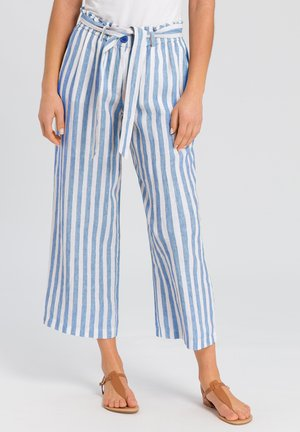 Trousers - blue varied