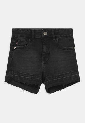 HAWA  - Shorts vaqueros - black denim